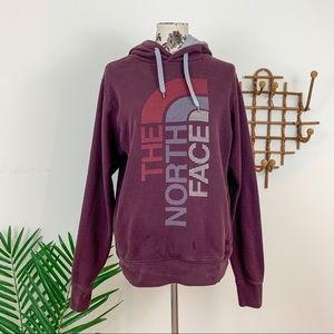 The North Face Men's Burgundy Hoodie